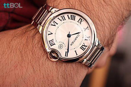 ساعت فلزی مردانه کارتیر