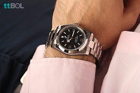 ساعت مردانه بند فلزی رولکس