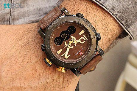 ساعت مردانه بند چرمی