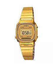 ساعت مچی زنانه CASIO LA670W GOLD
