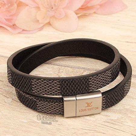 دستبند چرم لویی ویتون