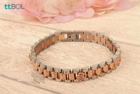 دستبند مردانه فلزی رولکس