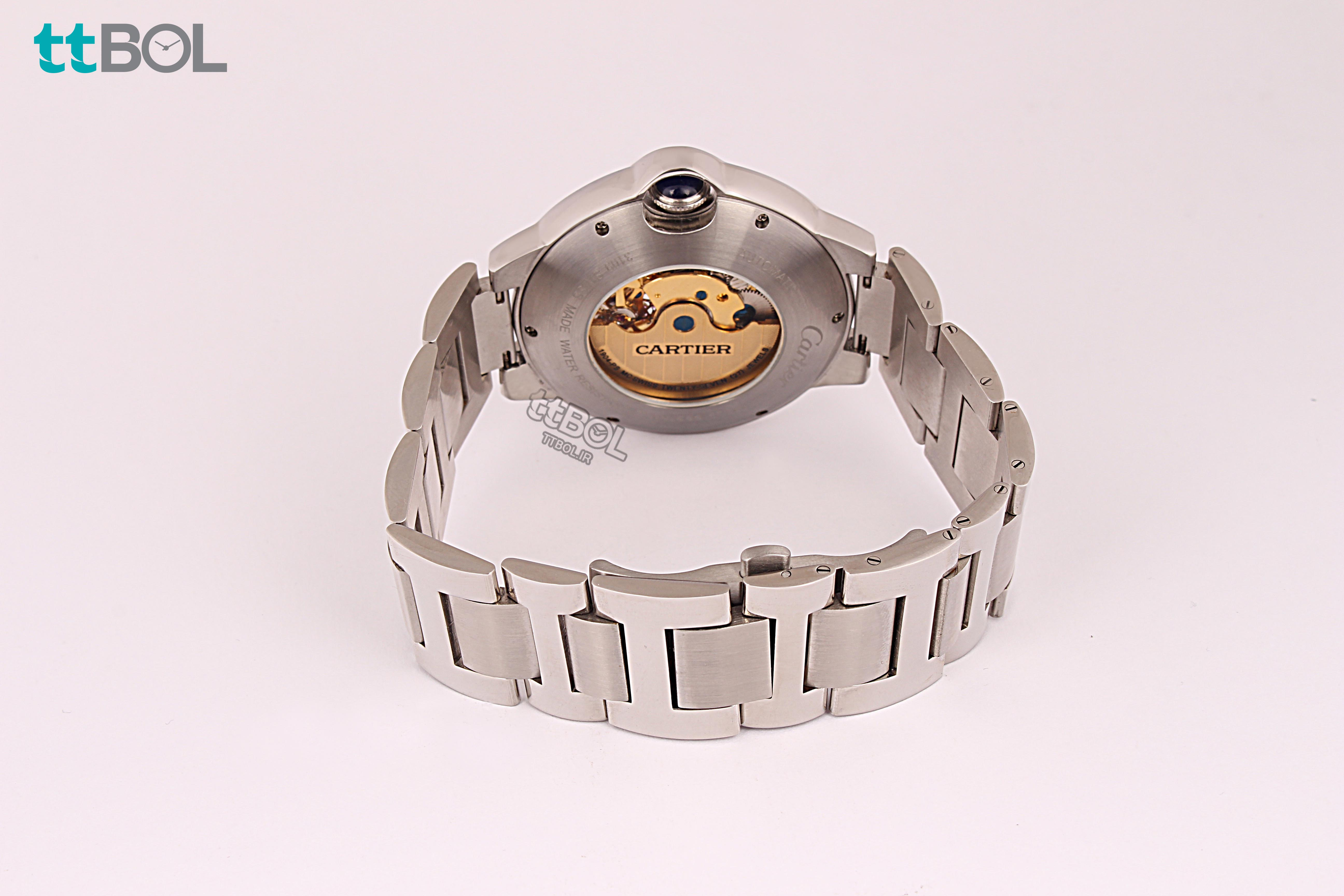 ساعت مردانه بند فلزی CARTIER