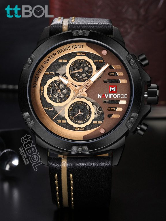 ساعت مردانه شیک naviforce