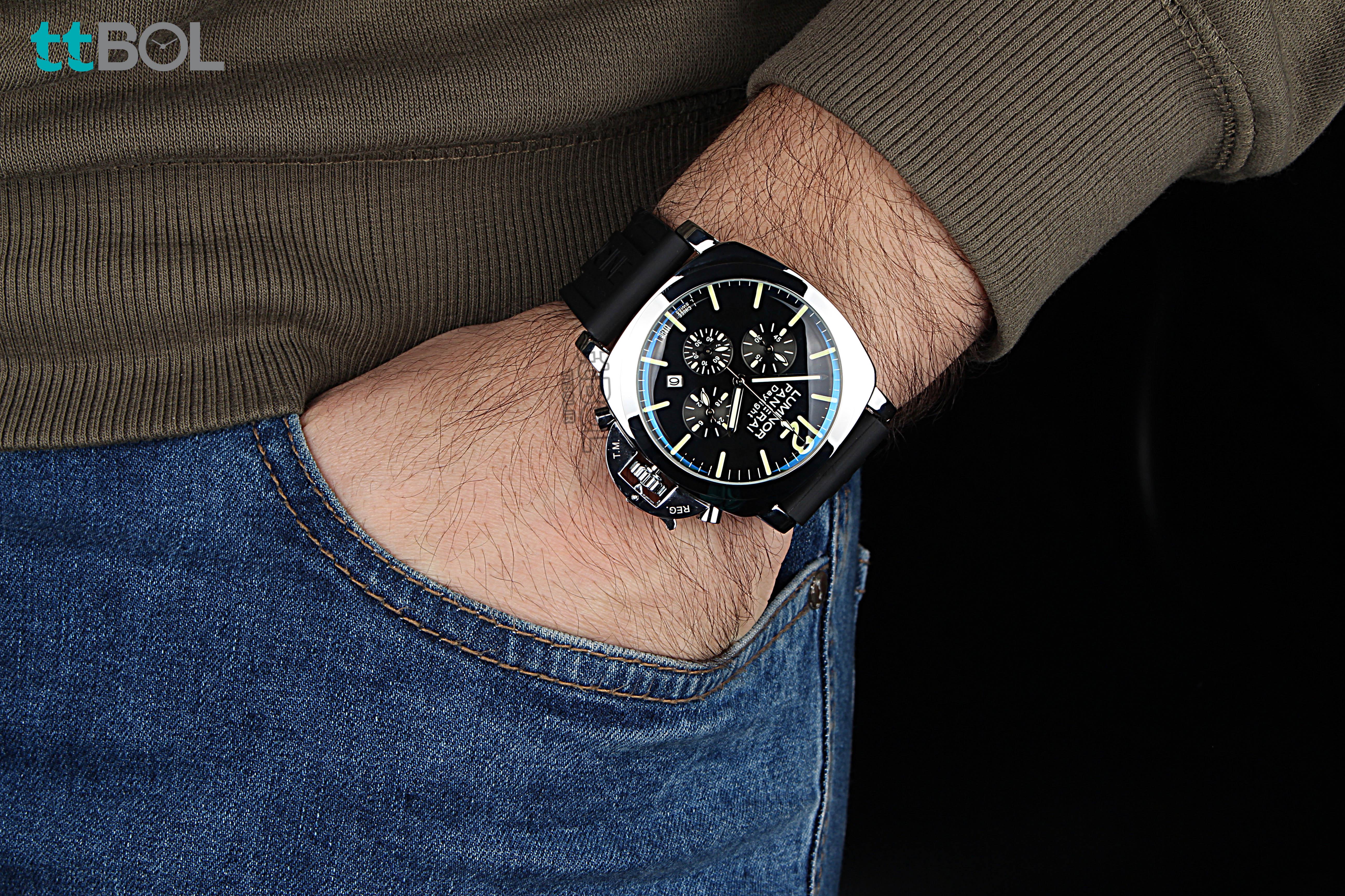 ساعت مردانه بند رابر پنرای