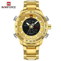 ساعت مچی مردانه NAVIFORCE NF9093 GOLD