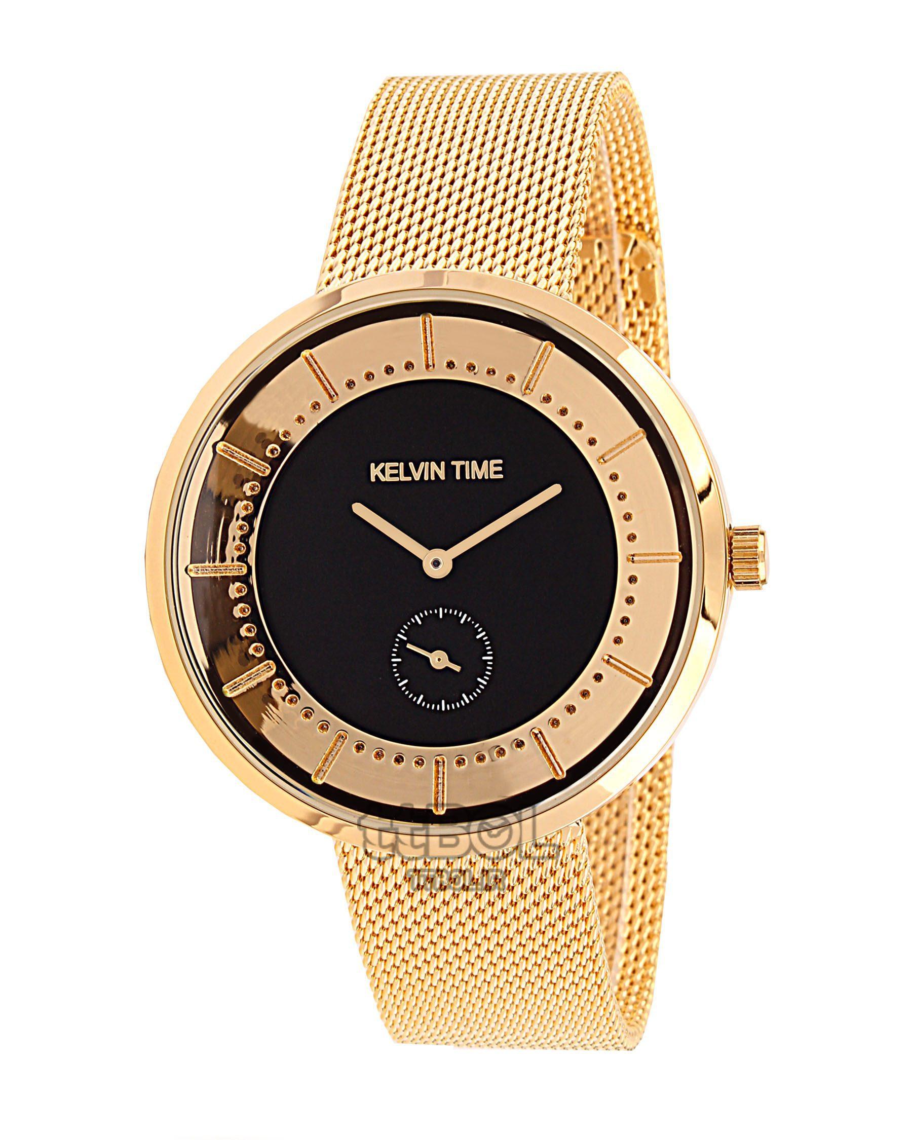 ساعت مچی زنانه،مردانه KELVIN TIME CK89712 T