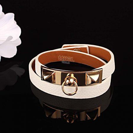 دستبند زنانه چرم