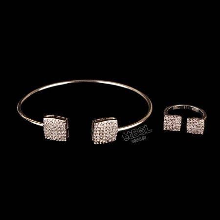 دستبند و انگشتر زنانه