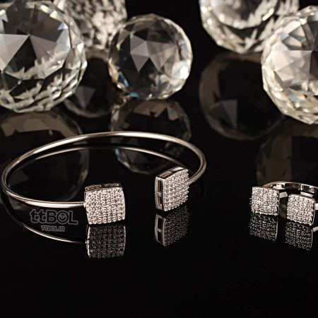 دستبند و انگشتر زنانه شیک