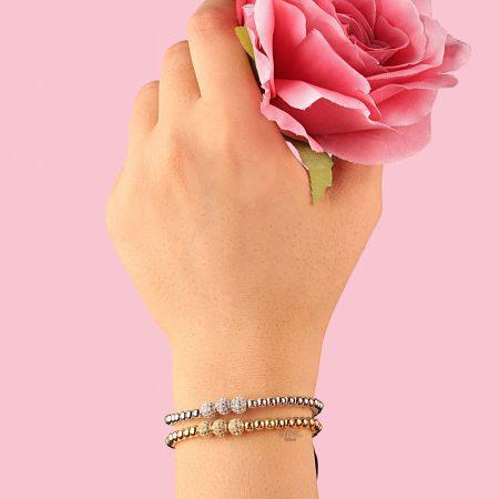 دستبند زنانه نگین دار