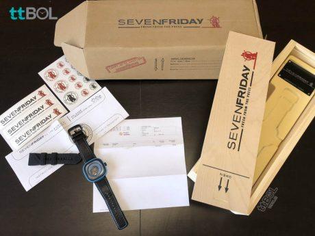 خرید جعبه اورجینال sevenfriday