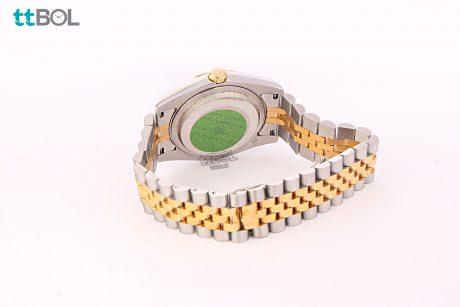 ساعت مردانه بند فلزی رولکس دیت جاست