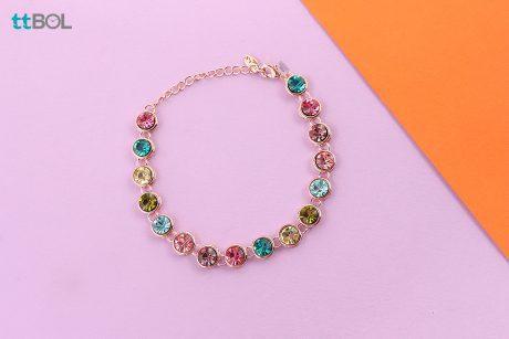 دستبند زنانه شیک سواروسکی