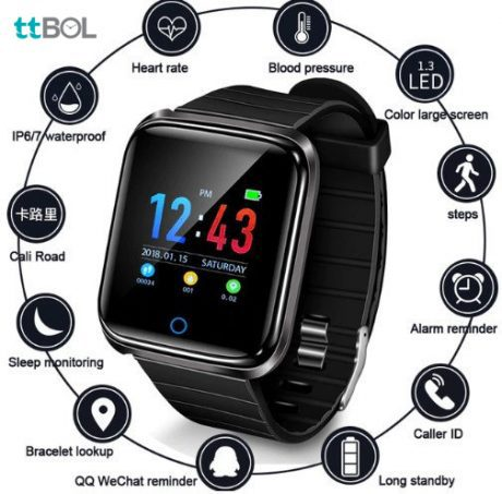 ساعت هوشمند D28