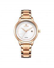 ساعت مچی زنانه NAVIFORCE NF5008 ROSE GOLD