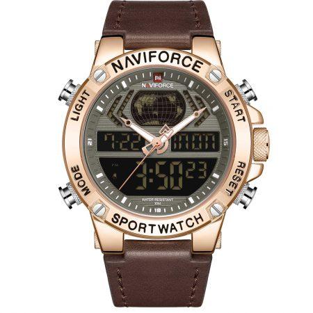 ساعت مچی مردانه ناوی فورس NAVIFORCE NF9164 RG/B/D.BN