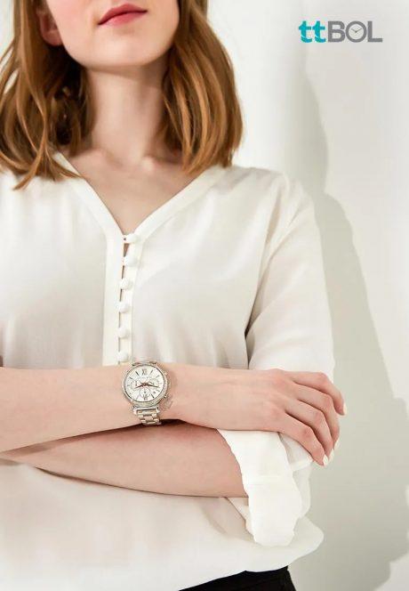 ساعت بند فلزی زنانه