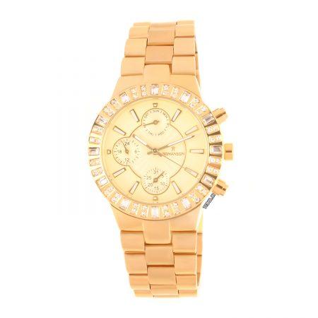 ساعت مچی زنانه طلایی