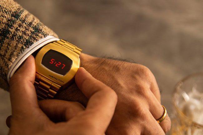 ساعت مچی طلایی