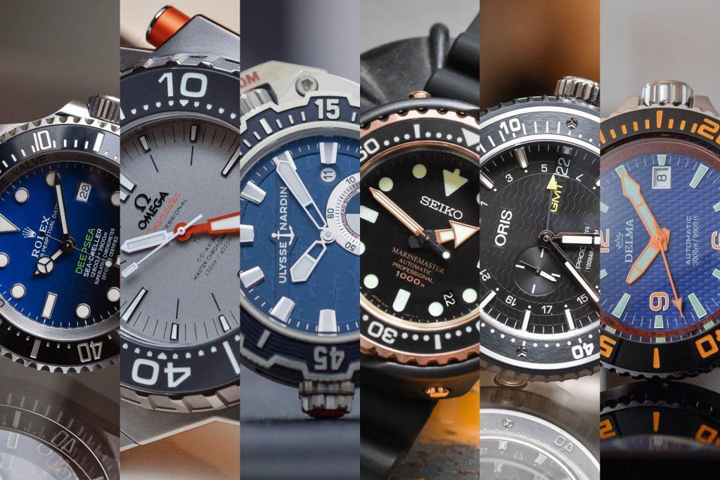 انواع ساعت غواصی