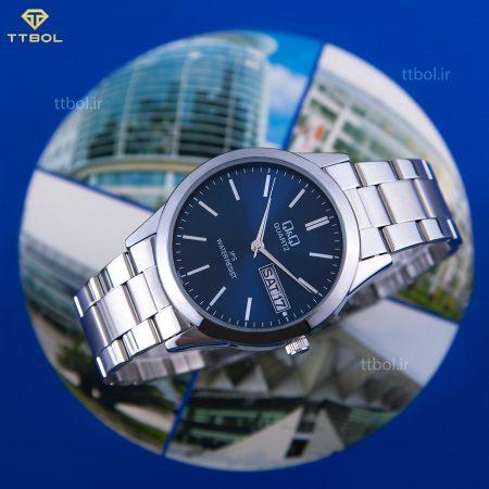 ساعت مچی دو تقویم کیو اند کیو
