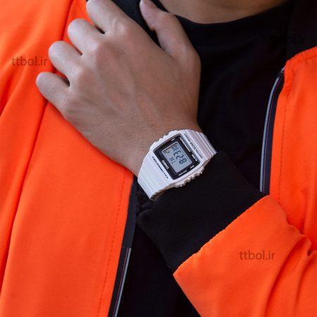 ساعت مچی کاسیو سفید