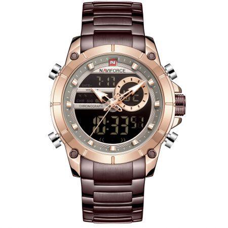 ساعت مچی مردانه ناوی فورس NAVIFORCE NF9163 RG/CE