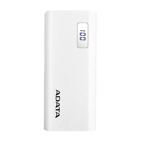 پاور بانک ای دیتا ADATA P12500D ظرفیت 12500 میلی آمپر