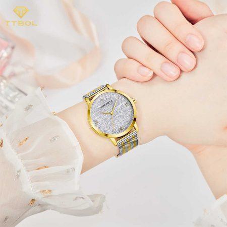 ساعت مچی زنانه مینی فوکوس MINI FOCUS MF0329L G/S