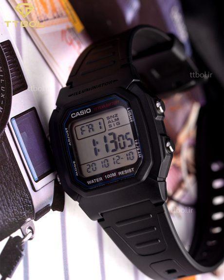 ساعت مچی مردانه کاسیو CASIO W-800HM-1AV