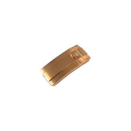 قفل رولکس سایز 16 رزگلد