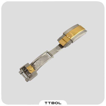 قفل رولکس سایز 16 سیلور/طلایی