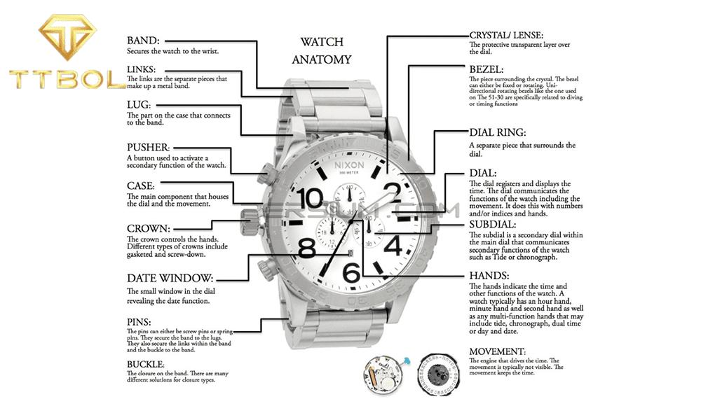 انواع بند ساعت مچی - ساعت رسمی تی تی بول