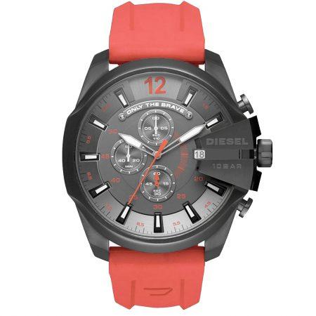 خرید ساعت مچی مردانه دیزل شاخدار قرمز DIESEL DZ-4303 قیمت و مشخصات