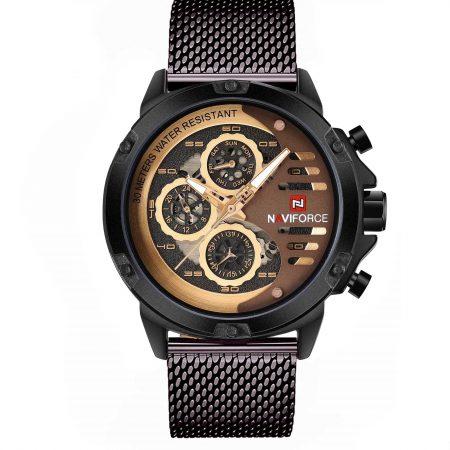 ساعت مچی مردانه ناوی فورس NAVIFORCE NF9110 CE/RG/BN