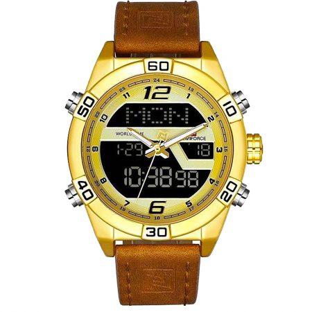 ساعت مچی مردانه ناوی فورس NAVIFORCE NF9128 G/W/BN
