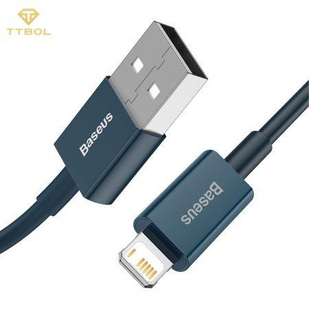 کابل USB به لایتنینگ فست شارژ بیسوس Baseus Fast Charging Data CATLYS-A02