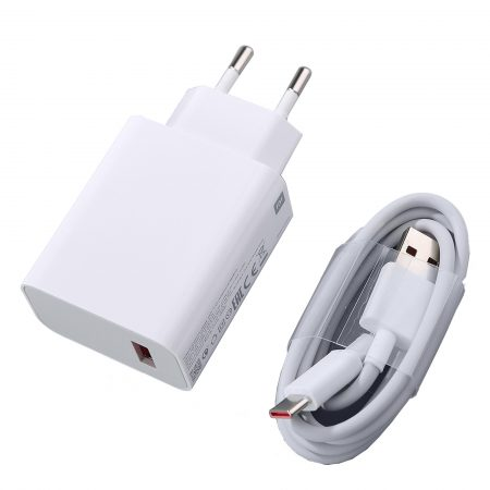 اداپتور به همراه کابل USB-A به لایتنینگ 33 واتی شیائومی Xiaomi MDY-11-EZ
